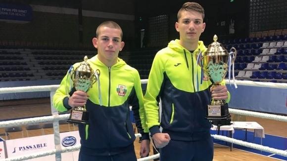 Три титли за боксьорите ни в Прищина