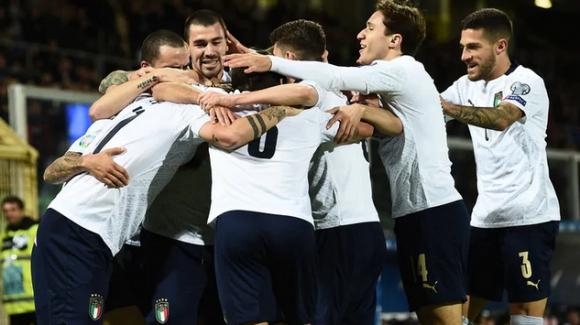 Италия вкара 9 гола за първи път от 71 години