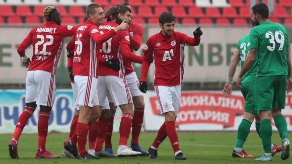ЦСКА-София с четвърта поредна победа след разгром във Враца (видео)