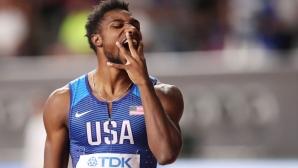 Ноа Лайлс мечтае да бяга 9.41 секунди на 100 метра