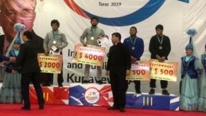 Ахмед Магамаев ликува на турнир в Казахстан
