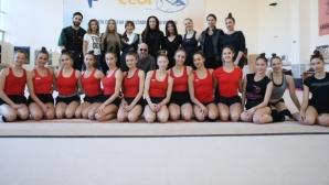 Националният отбор по художествена гимнастика с голямо национално турне догодина