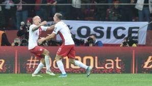 Играч на Лудогорец донесе победа на Полша в специален мач за Пишчек