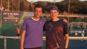 Нестеров и Терзиев ще спорят за титлата на турнир на ITF в Израел