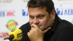 Мартин Стоев: Не е редно преди Олимпиада да има дрязги