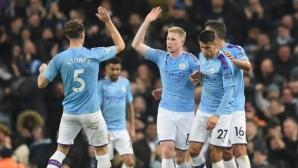 """Шампионите се надигнаха за обрат срещу силен Челси на """"Етихад"""" (видео)"""