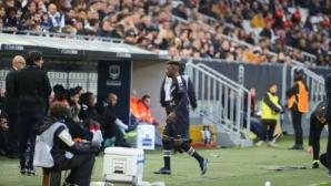 Джонатан Кафу се завърна в игра при победа на Бордо (видео)