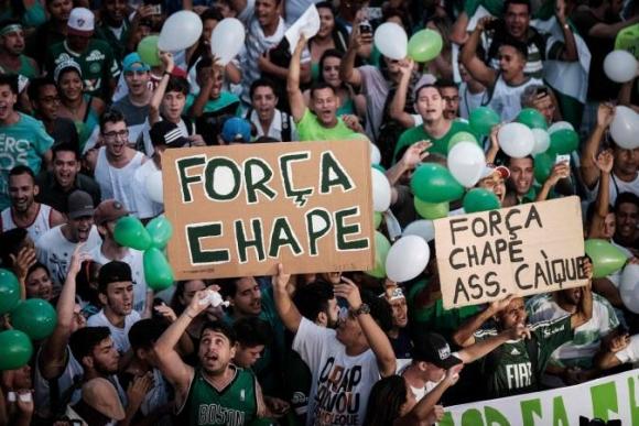 Три години след самолетната катастрофа Чапекоензе изпадна от бразилската Серия А