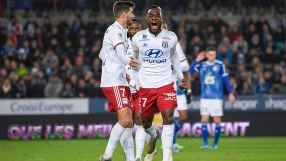 Лион сложи край на домакинската победна серия на Страсбург