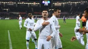 Марсилия пречупи Тулуза за 3 минути