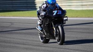 Адаптацията на Алекс Маркес в Honda протича по-лесно от очакваното