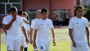 Спартак (Пл) притеснени от рефера за мача с Нефтохимик