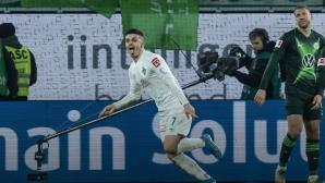 Край на мъката! Вердер дочака победа в Бундеслигата (видео)