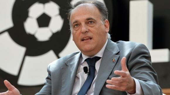 Президентът на испанската Футболна лига подаде оставка и ще се...