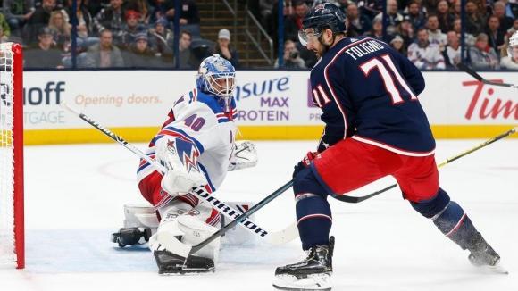 Александър Георгиев спаси 45 удара и помогна за победа на Рейнджърс в НХЛ
