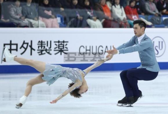 Китайци спечелиха финала на Гран при при спортните двойки, рускиня постави световен рекорд