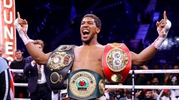 Антъни Джошуа отново е кралят на тежка категория (видео + галерия)