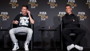 """Меси: Малко ме заболя, когато Кристиано спечели петата си """"Златна топка"""""""
