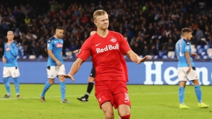 Борусия (Дортмунд) също обмисля оферта за норвежкия голаджия на Залцбург