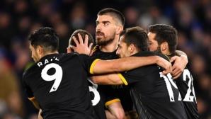 """""""Вълците"""" са без загуба вече в 11 поредни мача в Премиър лийг (видео)"""
