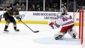 Георгиев с втори шътаут за сезона, Шайфле достигна границата от 400 точки в НХЛ