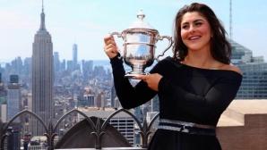 """Бианка Андрееску стана първата тенисистка """"Спортист на годината на Канада"""""""