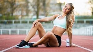 Гореща атлетка разпалва фантазиите (снимки)