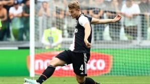 Де Лихт, Рамзи и Дъглас Коста ще пропуснат мача на Юве с Байер (Леверкузен)