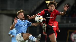 """Лацио разочарова като Интер, Селтик завърши със загуба в група """"Е"""" (видео)"""