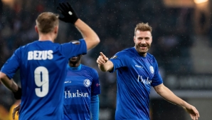 Гент запази предимството си пред Волфсбург (видео)