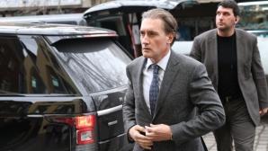 Кирил Домусчиев пристигна за Изпълкома, ще настоява за въвеждането на ВАР
