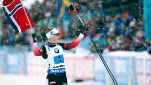 Йоханес Бьо спечели спринта в Хохфилцен, Илиев е 43-и