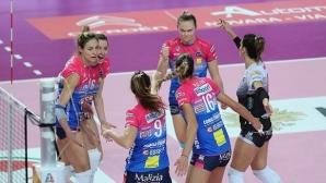 Ели Василева и Новара с изненадваща загуба в Италия (снимки)