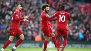 Ливърпул 1:0 Уотфорд, Салах откри (гледайте тук)