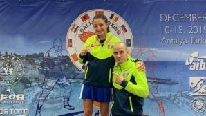 Чуканова и Йонузова са номер 1 на Балканите