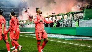 ПСЖ отново се откъсна на върха с пета поредна победа