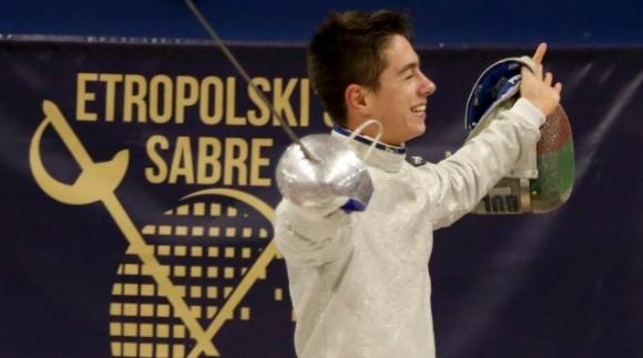 Тодор Стойчев е носител на Европейската купа по фехтовка за 2020 година