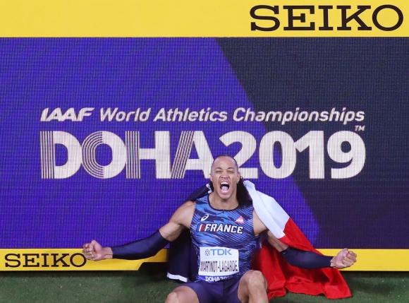 Мартино-Лагард и Ламот са най-добрите атлети на Франция за 2019 г.