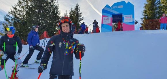 Константин Стоилов е 15-и на гигантския слалом на Младежката олимпиада