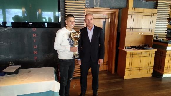 Мартин Минчев е Футболист №1 на Варна за 2019 година