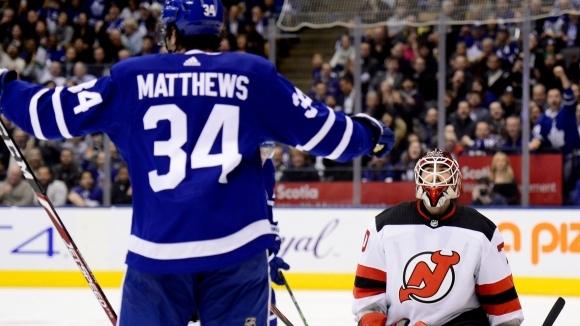 Матюс дебютира за Торонто с впечатляващ хеттрик