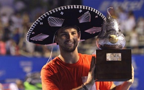 Григор Димитров се завръща в Акапулко след четиригодишно отсъствие