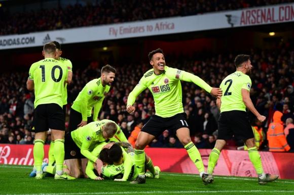 Арсенал 0:0 Шефилд Юнайтед (гледайте тук)
