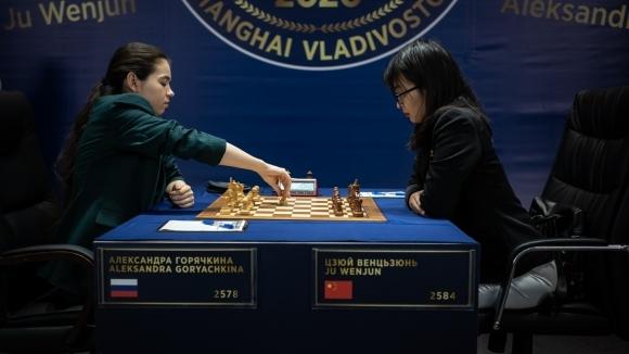 Вънцзюн победи Горячкина и изравни за световната титла