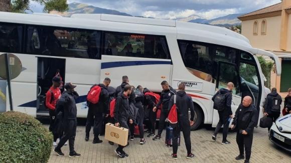 ЦСКА-София пристигна в Марбея