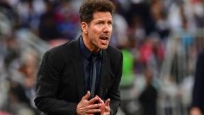 Симеоне: Срещу Реал играхме по-добре, отколкото срещу Барса