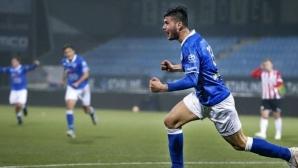 Стефан Велков пред смяна на клуба в Нидерландия