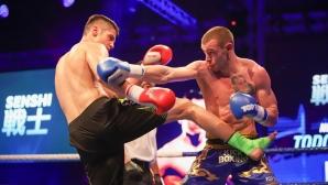 Световният шампион по муай тай Християн Корунчев излиза за победа на SENSHI 5
