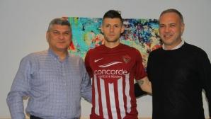 Страхил Попов дебютира с равенство за новия си отбор