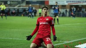 Леверкузен спечели най-лесните си 3 точки